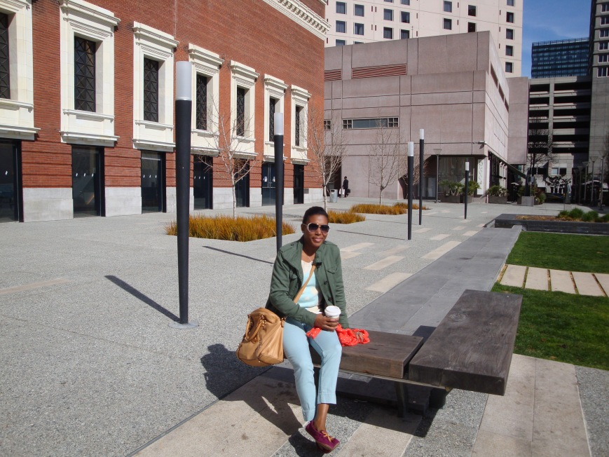 Outside of the Contemporary Jewish Museum