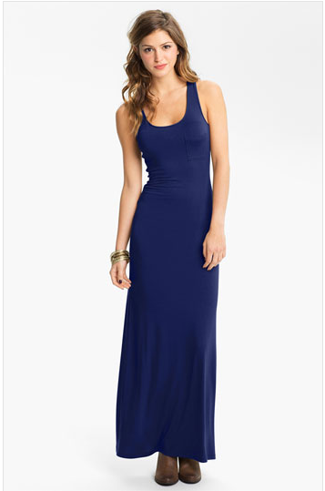 Soprano Raceback Maxi Dress
