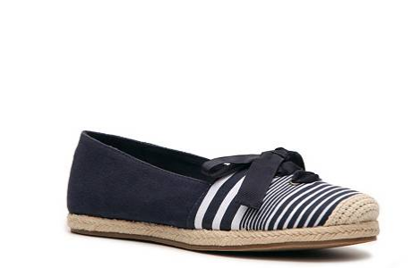 Report Bee Striped Espadrille FlatPhoto credit: www.dsw.com