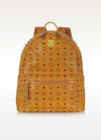 MCM Stark Large Studded Backpack