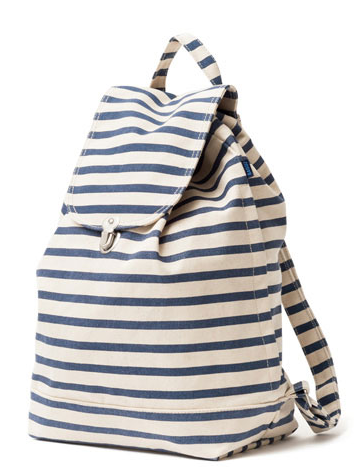 Baggu Backpack in Sailor Stripe
