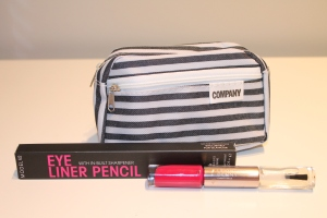 Company make-up bag, Model Co, Leighton Denny Expert Nails