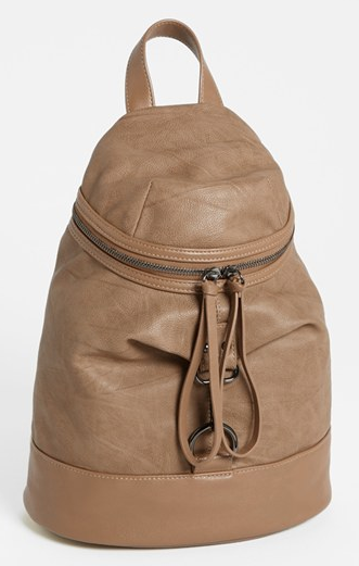 Poverty Flats by Rian Faux Leather Backpack