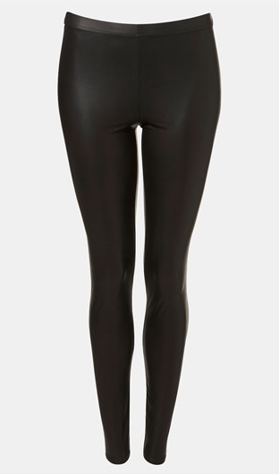 Topshop Faux Leather Leggings - Nordstrom