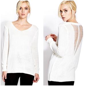 Easy Shredded Sweater