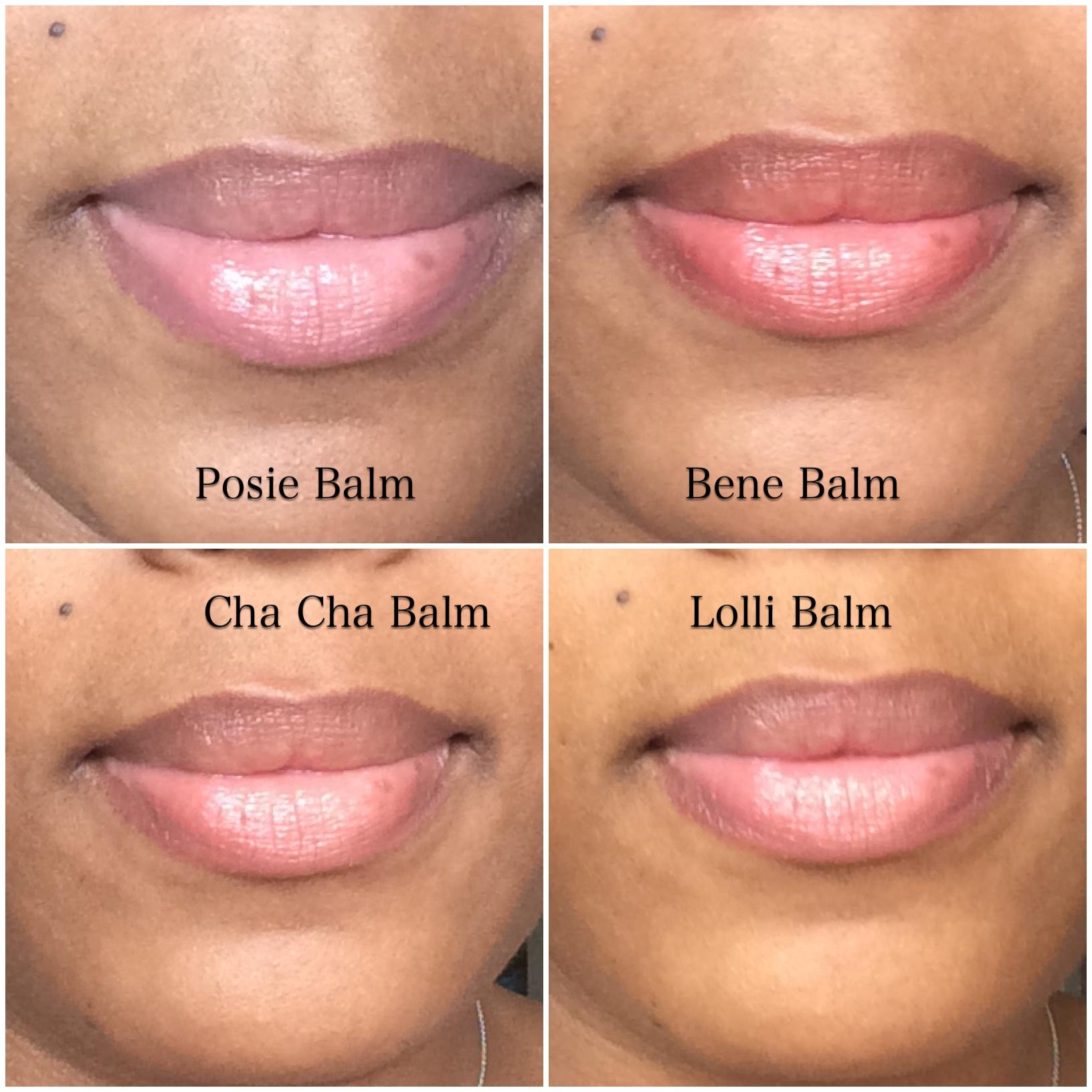 Benefit Hydrating Lip Balms Lipsticks